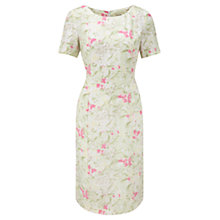 Buy Viyella Floral Garden Shift Dress, Sage Online at johnlewis.com