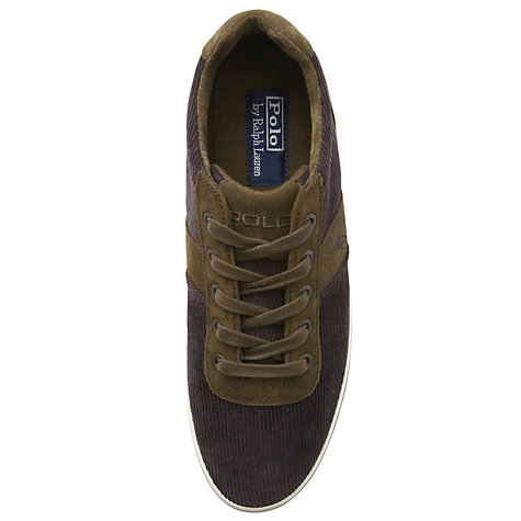 Buy Polo Ralph Lauren Hanford-Ne Corduroy Trainers Online at johnlewis.com
