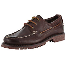 Buy Polo Ralph Lauren Regan Leather Deck Shoe Online at johnlewis.com