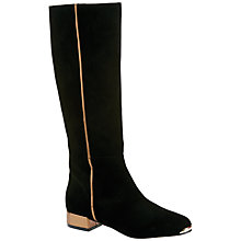 Buy Ted Baker Passam Knee Boots, Black Online at johnlewis.com