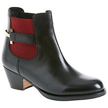 Buy Ted Baker Jureo Two Tone  Buckle Chelsea Ankle Boots, Black Online at johnlewis.com