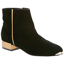 Buy Ted Baker Ojip Ankle Boots, Black Online at johnlewis.com
