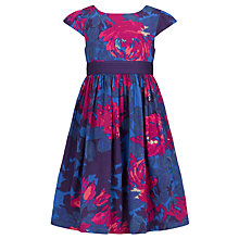 Buy John Lewis Girl Floral Prom Dress, Multi Online at johnlewis.com