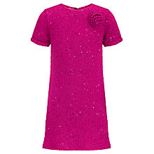 Buy John Lewis Girl Sequin Knitted Dress Online at johnlewis.com
