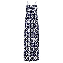Buy Jigsaw Santa Fe Print Maxi Dress, Blue Online at johnlewis.com