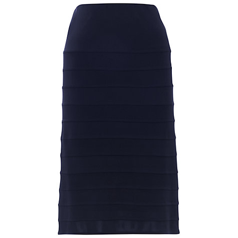 Buy Chesca Jersey Bandage Skirt, Navy Online at johnlewis.com