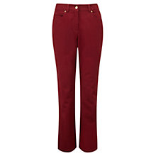 "Buy Viyella Jeans, 30"" Leg, Berry Online at johnlewis.com"