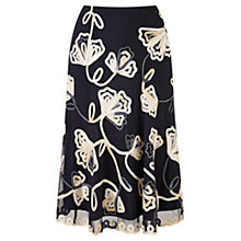 Buy CC Petite Cornelli Floral Skirt, Navy Online at johnlewis.com