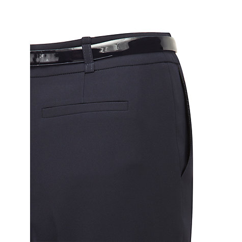 Buy Viyella Drape Twin Regular Trousers, Navy Online at johnlewis.com