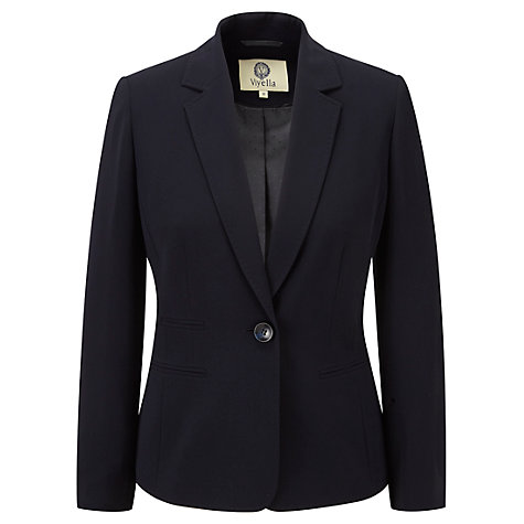 Buy Viyella Rochette Jacket, Navy Online at johnlewis.com