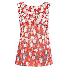 Buy Oasis Tulip Print Top, Multi Online at johnlewis.com