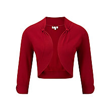Buy CC Petite Cardigan, Poppy Red Online at johnlewis.com