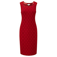 Buy CC Petite Basket Weave Dress, Poppy Online at johnlewis.com