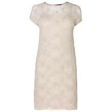 Buy Phase Eight Made in Italy Frankie Sequin Tunic Dress, Ivory Online at johnlewis.com