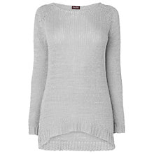 Buy Phase Eight Made in Italy Tape Yarn Jumper, Silver Online at johnlewis.com