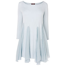 Buy Phase Eight Made in Italy Gladys Tunic Top, Glacier Online at johnlewis.com
