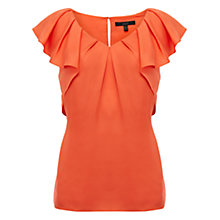 Buy Coast Rylie Top, Orange Online at johnlewis.com