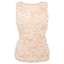 Buy Coast Kesha Petal Top, Peach Online at johnlewis.com