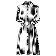 Buy Phase Eight Made in Italy Marnie Striped Tunic Dress, Black/White Online at johnlewis.com