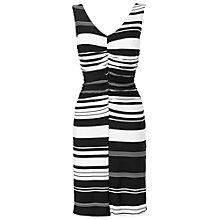 Buy Phase Eight Davina Dress, Black/Ivory Online at johnlewis.com