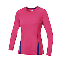 Buy Saucony Women's Fastr Long Sleeve Top, Pink Online at johnlewis.com