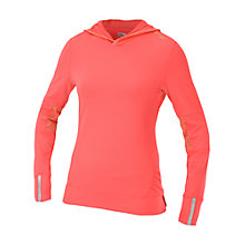 Buy Saucony Women's Ruched Hoodie, Coral Online at johnlewis.com