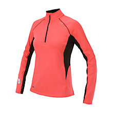 Buy Saucony Women's DryLete Long Sleeve Running Top, Pink/Black Online at johnlewis.com