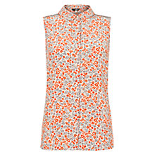 Buy NW3 by Hobbs Constable Blouse, Champagne Online at johnlewis.com