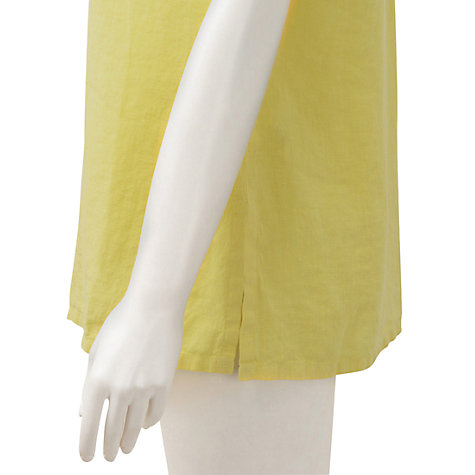 Buy East Sleeveless Linen Shirt Online at johnlewis.com