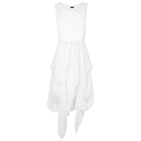 Buy Phase Eight Made in Italy Hook Up Dress, White Online at johnlewis.com
