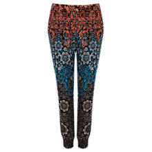 Buy Warehouse Ombre Stencil Print Trousers, Multi Online at johnlewis.com