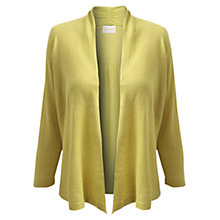 Buy East Linen Short Cardigan, Soft Lime Online at johnlewis.com