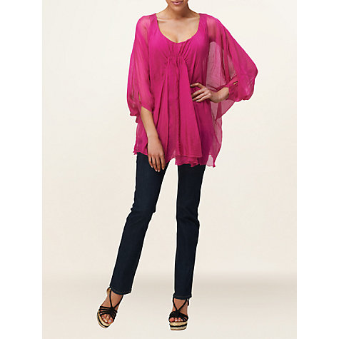 Buy Phase Eight Made in Italy Tope Tunic Top Online at johnlewis.com