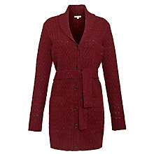 Buy Barbour Clarewood Cardigan, Cordovan Online at johnlewis.com