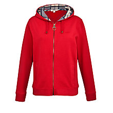 Buy Barbour Arctic Hoody, Red Online at johnlewis.com
