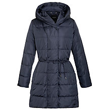 Buy Weekend by MaxMara Padded Mid Length Coat, Ultramarine Online at johnlewis.com