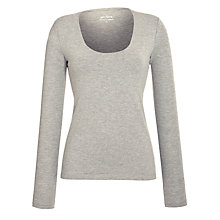 Buy John Lewis Scoop Neck Top Online at johnlewis.com