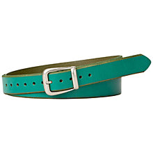 Buy Fossil Bevelled Jean Belt Online at johnlewis.com