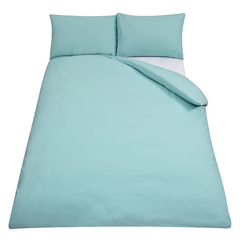 Buy John Lewis 400 Thread Count Cotton Sateen Duvet Cover and Pillowcase Set Online at johnlewis.com