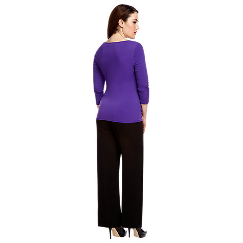Buy Alexon Wide Leg Trousers, Black Online at johnlewis.com