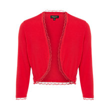 Buy Alexon Renaissance Bolero Cardigan, Red Online at johnlewis.com