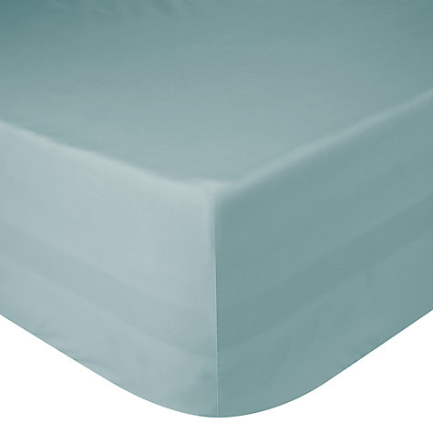 Buy John Lewis 400 Thread Count Cotton Sateen Fitted Sheets Online at johnlewis.com