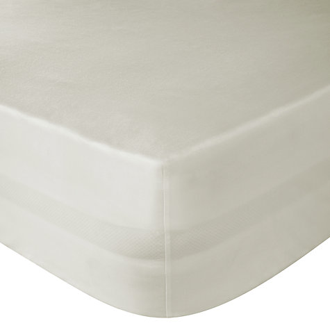 Buy John Lewis Polycotton Easycare Fitted Sheet Online at johnlewis.com