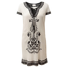 Buy East Pasanna Tunic, White Online at johnlewis.com