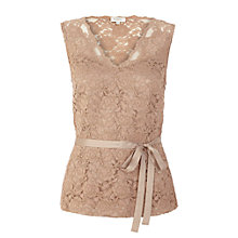 Buy Kaliko Lace Blouse, Neutral Online at johnlewis.com