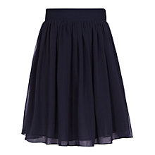 Buy Reiss Flared Skirt, Navy Online at johnlewis.com