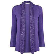 Buy Windsmoor Longline Cardigan, Blackcurrant Online at johnlewis.com