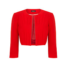 Buy Alexon Pleat Detail Cover Up, Red Online at johnlewis.com