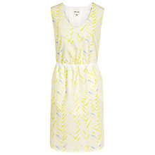 Buy Reiss Citrus Print Sleeveless Dress, Citrus Online at johnlewis.com