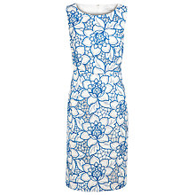 Buy Kaliko Cutwork Embroidered Dress, White Online at johnlewis.com